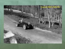 "MG 746cc Single Seater Curly Dryden at Prescott 1947. Nice 10x7"" photo"